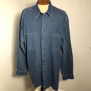 Men's Denim Shirt. Size Extra Large